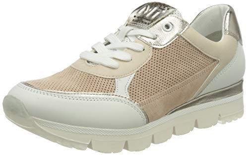 MARCO TOZZI 2-2-23756-26 Damen Leder Sneaker, Zapatillas Mujer, Rose Comb, 38 EU