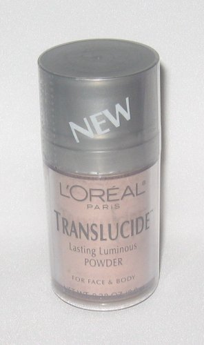 L'Oreal Translucide Lasting Luminous Powder For Face & Body ~ Angelic ~ .28 oz (8.0 g)
