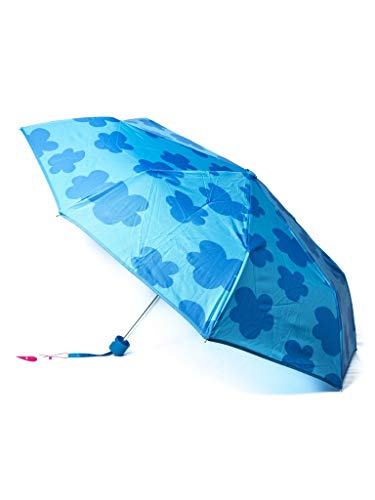 Paraguas Plegable Agatha Ruiz de la Prada Azul con Nubes