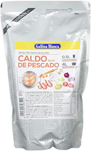 Gallina Blanca, Conserva de crema de marisco - 6 de 500 ml. (Total 3000 ml.)