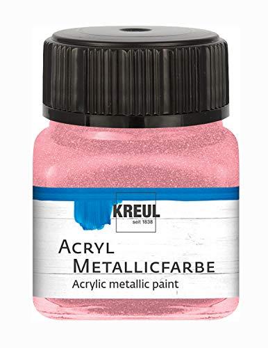 C.KREUL Hobby Line Acryl Metallicfarbe 20 ml Rosa
