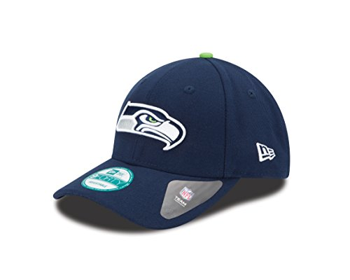 New Era 9FORTY NFL The League Seattle Seahawks Kappe, Blau, One Size