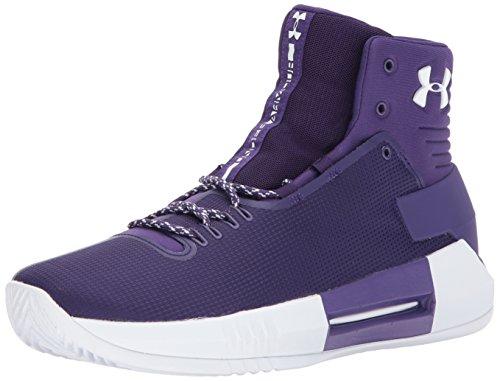 Under Armour Men's Team Drive 4 Basketball Shoe, Purple (501)/Purple, 9.5
