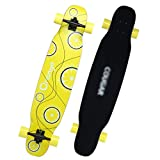 DUWEN-Skateboard Maple Long Board Adult Entry Level Skateboard Beginners Boys and Girls Brush Street Dance Board Teens Four Wheel Scooter (Color : C)