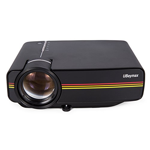 UBaymax Mini Proiettore Video 1200 Lumen LCD Portatili 1080P Proiettore