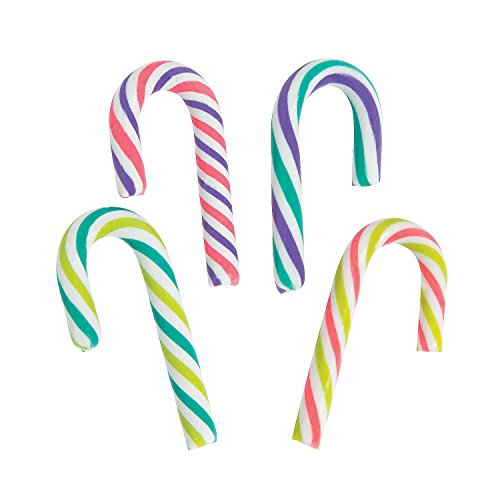 Mini Candy Canes (100 Pieces)