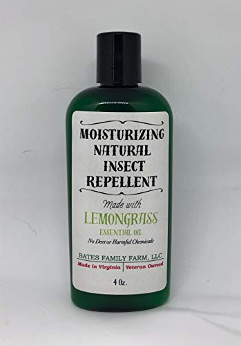 Bates Family Farm Moisturizing Goat Milk Lotion and Natural Insect Repellent ~ 4-Ounce Bottle