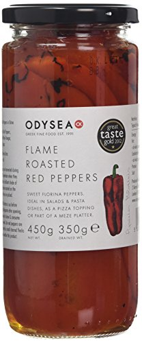 ODYSEA Flame Roasted Red Peppers 450 g