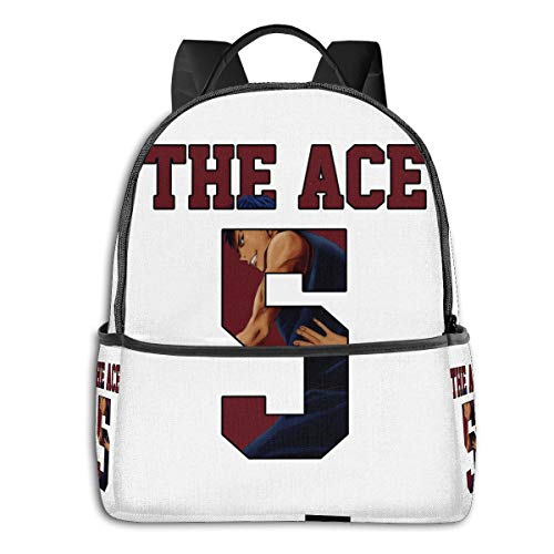 Anime & Kuroko No Basket Aomine Daiki The Ace Nr 5 Jersey Classic Student School Bag School Cycling Leisure Travel Camping Outdoor Backpack
