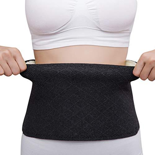 Nierenwärmer Winter Wärmegürtel Rücken Rückenwärmer Taillengürtel Damen Herren Nierenschutz Kaschmir Nierengurt Wärme Bauchgürtel Elastisch Rückenstützgürtel Bauchwärmer Bauch Taille Unterstützung
