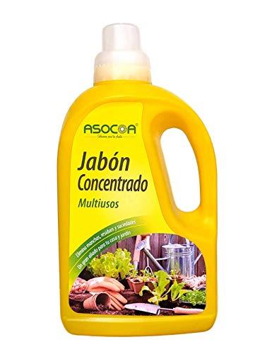 ASOCOA - Jabón Potásico Concentrado Multiusos 1 L - Solución de Sales potásicas.