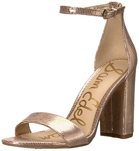 Sam Edelman Chaussures Femme Sandale À Talon Yaro Or Rosé SS 2019