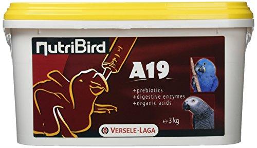 Versele-laga Nutribird A19 Mano-Allevamento Cibo - 3kg