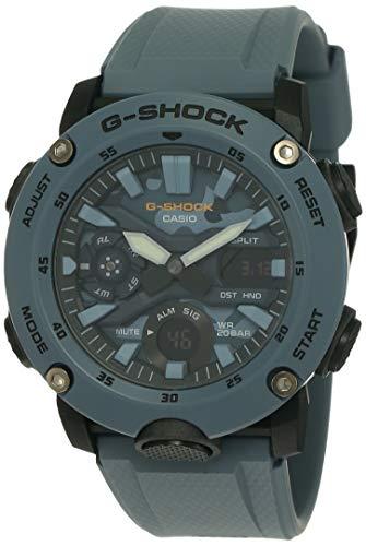 Relógio CASIO G-SHOCK masc. azul camuflado GA-2000SU-2ADR