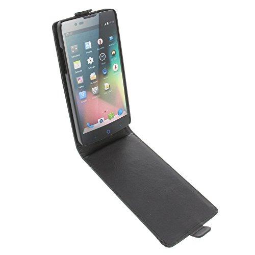 foto-kontor Tasche für ZTE Blade L3 Plus Flipstyle Schutz Hülle Handytasche schwarz