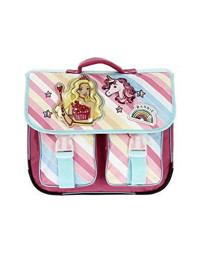 Barbie Schulranzen mit Einhorn, 36 cm Gr. One Size, Rosa