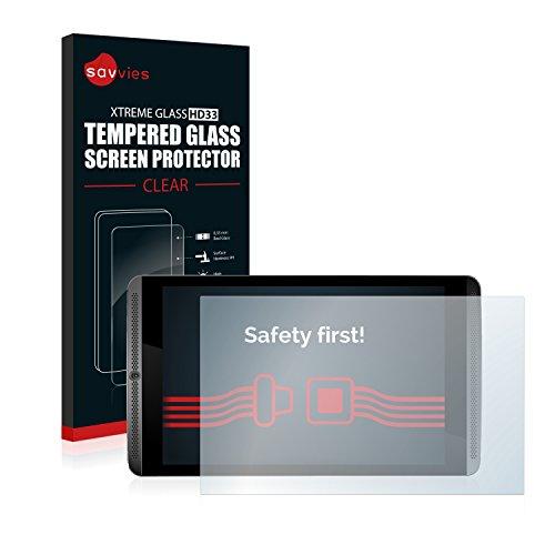 Savvies Panzerglas kompatibel mit Nvidia Shield K1 - Echt-Glas, 9H Härte, Anti-Fingerprint