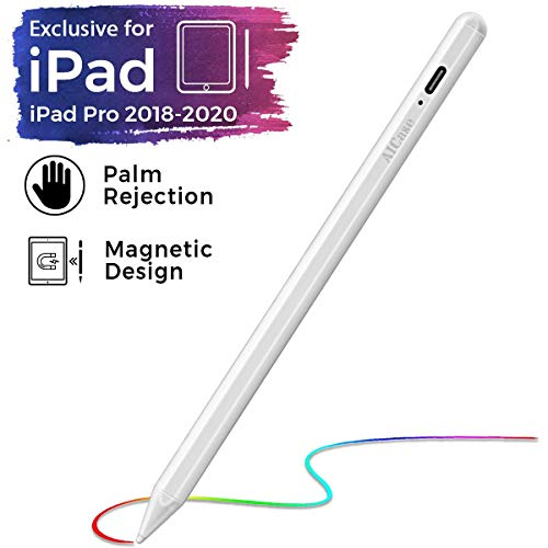 Stylus Pen for iPad with Palm Rejection, Active Pencil Compatible (2018-2020) Apple iPad Pro (11/12.9 Inch),iPad 6th/7th Gen,iPad Mini 5th Gen,iPad Air 3rd Gen for Precise Writing/Drawing