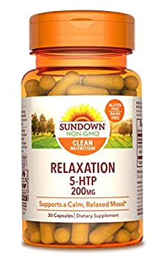 Sundown Maximum Strength 5-HTP 200 mg, 30 Capsules