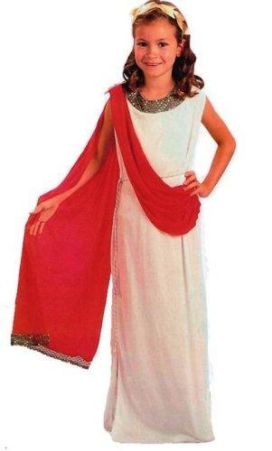 Romain Déesse Grecque Costume Déguisement Enfant (M)