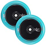 Envy Scooters 110mm Hollow Core Wheels - Black/Teal
