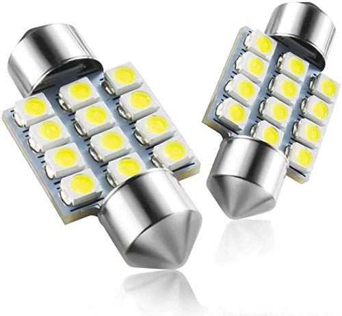 Marsauto DE3175 31mm LED Interior Dome Light Map Bulb Door Courtesy for Car 1.25inch DE3021 DE3022 Festoon Bulbs Pack of 4