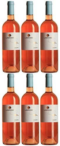 Librandi Vino Cirò Rosato DOC - 2019 - 6 Bottiglie da 750 ml