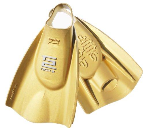 Soltec-swim(ソルテックスイム) ハイドロ・テック2フィン スイム ハードタイプ ゴールド Lサイズ 201181