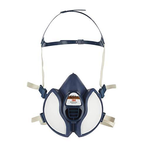 3M Atemschutz-Halbmaske Wartungsfrei 4251+, Filter FFA1P2 R D, leichteres Atmen durch verbessertes Ausatemventil