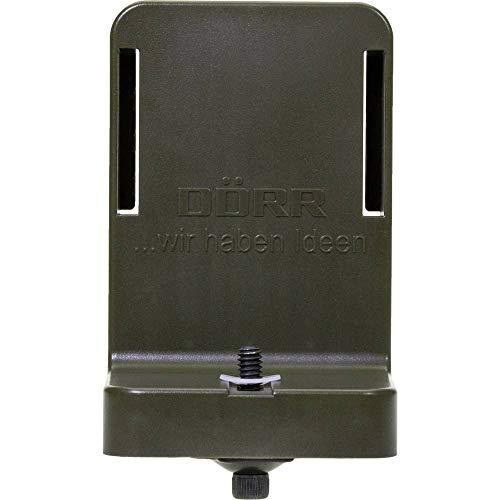 Dörr 204495 Uni-1 Universaladapter für Haltesystem Snapshot Multi Wild/Überwachungskameras Oliv