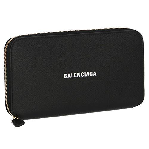 BALENCIAGA(バレンシアガ) 2020年春夏 財布 長財布 ラウンドジップ ブラック 594290 1IZ4M 1090 [並行輸入品]