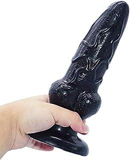 FHLJ Brute Shape Ànâl Trainer Bead Plug for Beginners and Advanced Users (Colour: Black), PVC