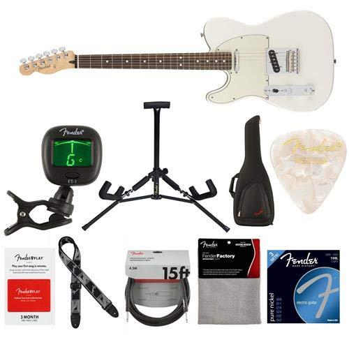 Cheap Fender Player Telecaster Left-Handed Electric Guitar 22 Frets Modern