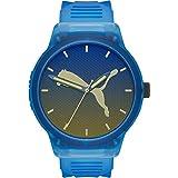 [プーマ] 腕時計 RESET V2 P5034 メンズ 正規輸入品 ブルー