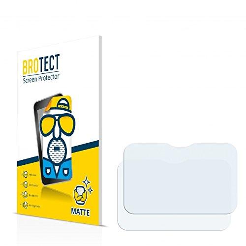 2X BROTECT Matt Displayschutz Schutzfolie für Panasonic Toughpad FZ-M1 (matt - entspiegelt, Kratzfest, schmutzabweisend)