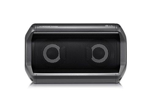 LG PK5 Outdoor Bluetooth Lautsprecher mit Meridian Technologie Schwarz