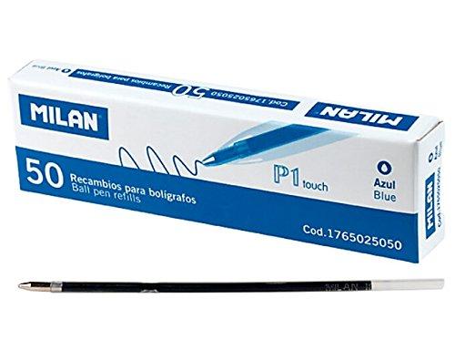 Milan-Caja 50 Recambios Para Bolígrafo P1 Touch