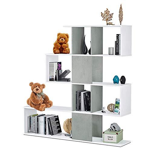 HABITMOBEL Estantería librería Infantil Melody, Dimensiones: 145 x 145 x 29 cm...