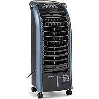 KLARSTEIN Maxfresh Ocean Ventilador 3 en 1 – Ventilador, Enfriador de Aire y humidificador, 65 W, 444 m³/h, 4 Niveles, 3 Modos: Normal/Natural/Noche, programable hasta 15 h, depósito de 6 L, Azul
