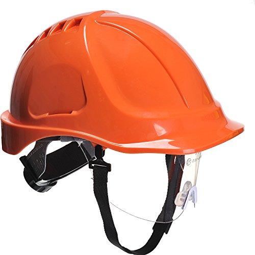 Elmetto Endurance Plus con Visiera - Arancione
