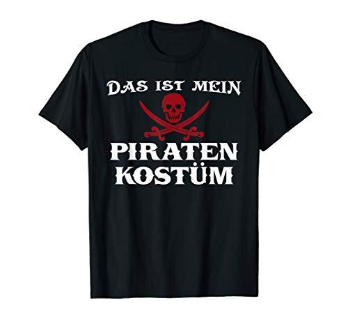 Piraten Kostüm I Geschenk Piraterie Pirat Totenkopf T-Shirt