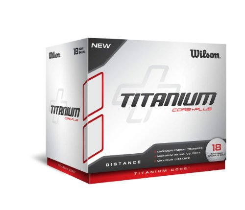 wilson titanium golf ball, wilson titanium golf ball review