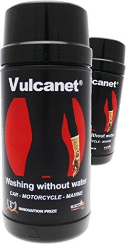 Vulcanet, Premium-Motorrad-/Autoreiniger, für über 30 Anwendungen, inklusive Fettlöser, Insekten- und Teerentferner, Lederreiniger, Helmvisierreiniger und Schutz