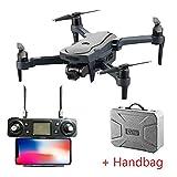 MEIGONGJU Drone Drone Mini GPS 5.8G 1KM Plegable Brazo con 4K UHD 1080P cámara RC avión no tripulado Quadcopter,Drone Handbag