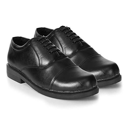 Action Shoes Men's Black Formal Shoes - 8 UK (42EU) (SR-551-BLACK)