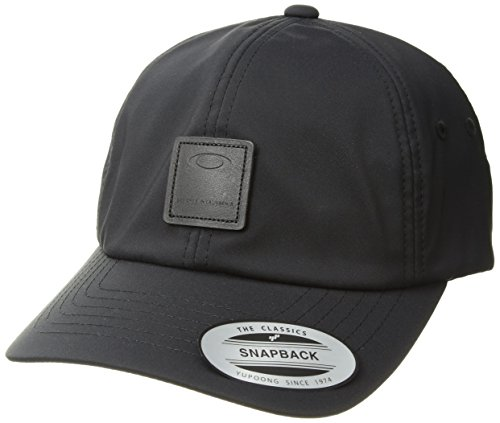Oakley Herren Smart Baseball Cap, Blackout, Einheitsgröße