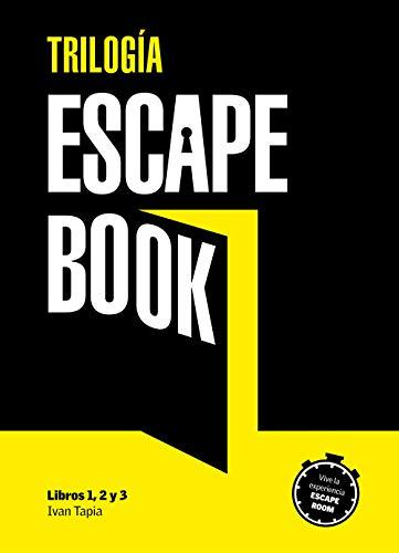 Estuche trilogía Escape book (Libro interactivo)