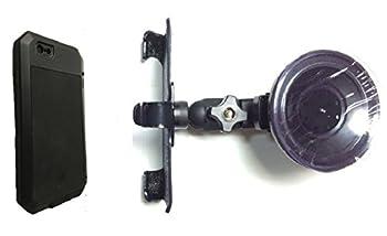 SlipGrip Car Holder for Apple iPhone 8 Using LUNATIK Taktik Extreme Case HV