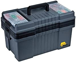 "Plano 823-003 Contractor Grade Po Series 22"" Tool Box, Graphite Gray with Black.."