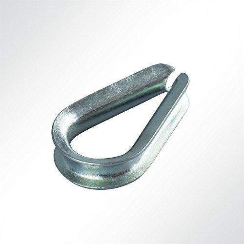 LYSEL Kauschen Seilkausche Drahtseilkausche für 6mm Seil